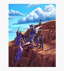 Transformers Prime - Arcee and kids. Photographic Print
