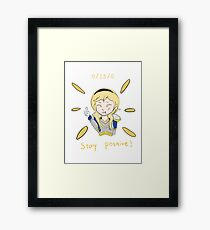 Lux feeder Framed Print