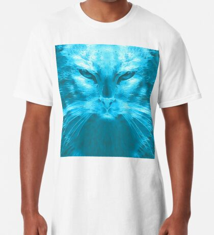 LightCyan Long T-Shirt