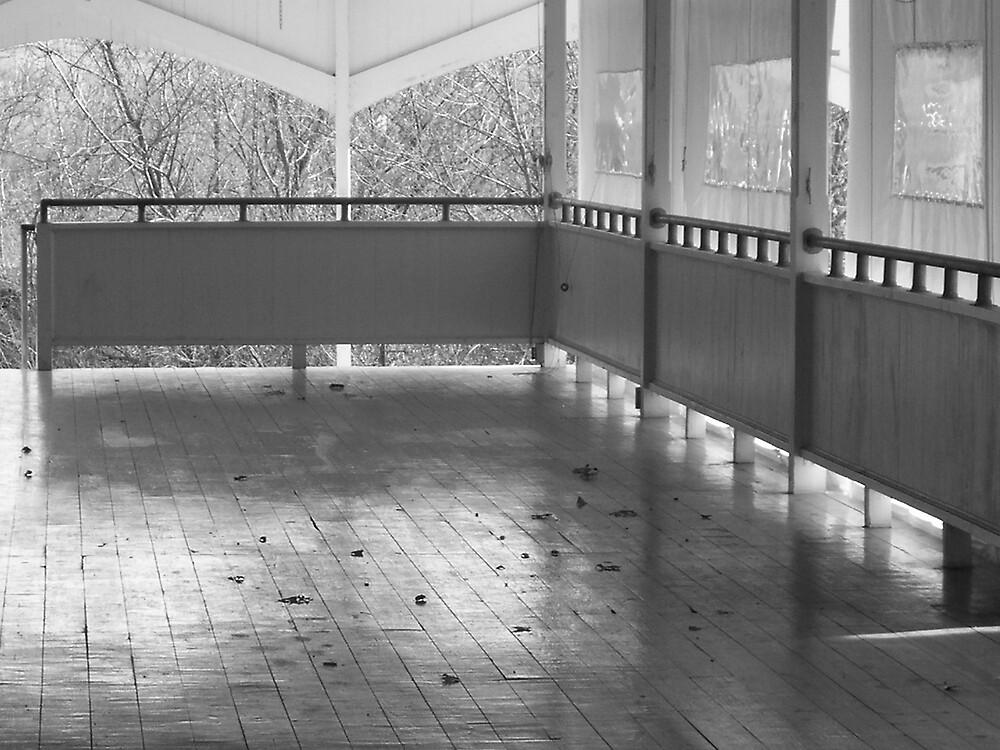 Dance Floor Deserted by Rebecca Ogden