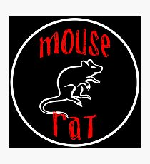 mouse rat, mouse, rat, parks, andy, recreation, tv, show, hipster, dwyer. Photographic Print