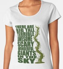 There Are Giants in the Sky! Women's Premium T-Shirt