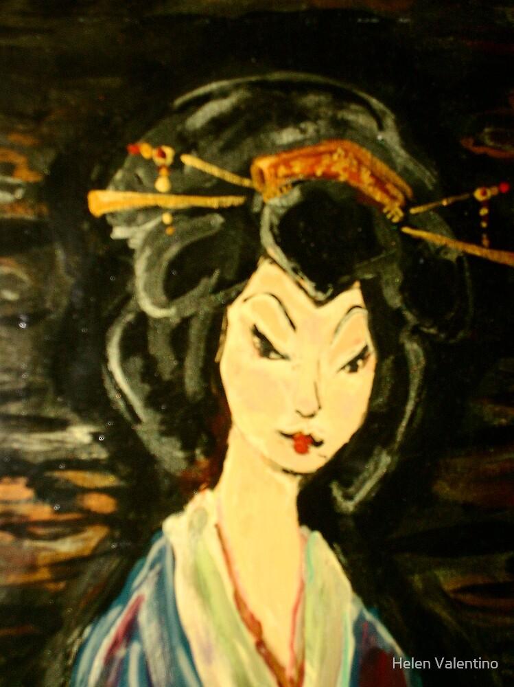 Moonlight Stroll by Helen Valentino