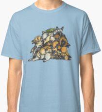 Sleeping pile of Malinois dogs Classic T-Shirt