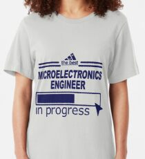 MICROELECTRONICS ENGINEER Slim Fit T-Shirt
