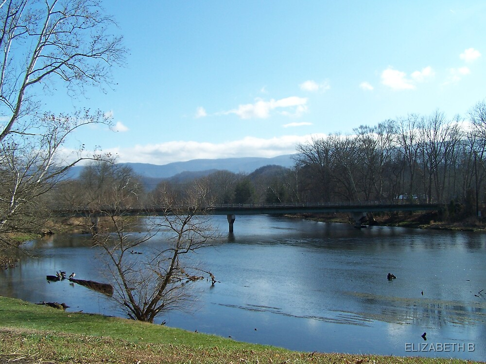 ON THE RIVER by ELIZABETH B