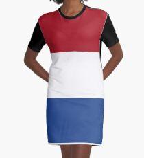 The Netherlands Flag - Dutch T-Shirt Graphic T-Shirt Dress