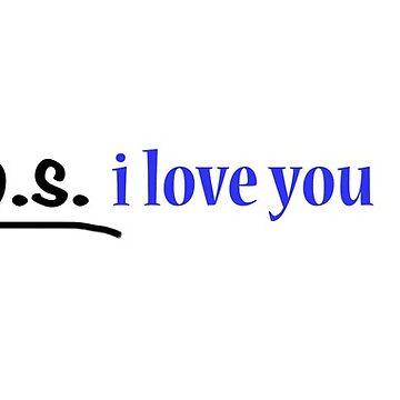 p.s. i love you  by samby