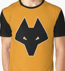 Wolves Head Graphic T-Shirt