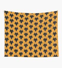 Wolves Head Wall Tapestry