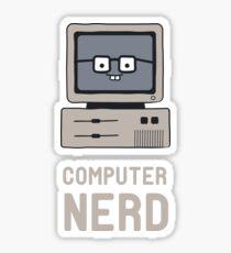 Computer Nerd Sticker