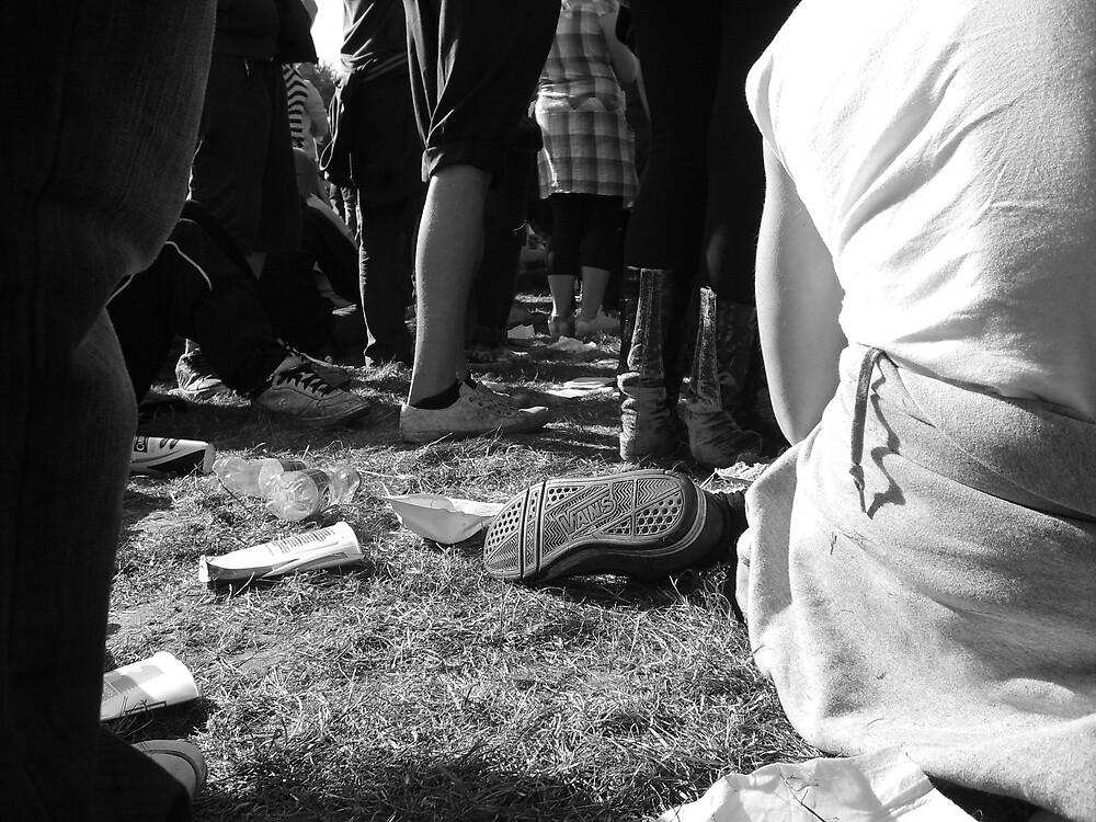Leeds Festival Floor by Silika