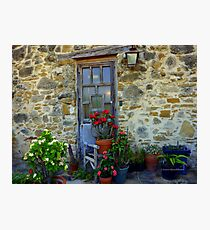 Rustic Door Photographic Print