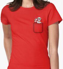 Pocket Skeleton Women's Fitted T-Shirt