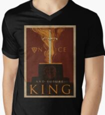 Once and Future King Men's V-Neck T-Shirt