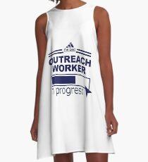 OUTREACH WORKER A-Line Dress