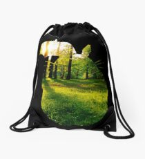 Totoro Forest Drawstring Bag