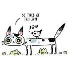 Gestörte Katze von freeminds