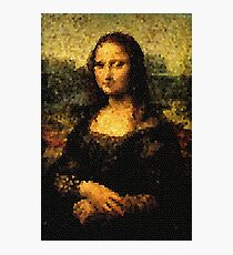 Gioconda Glass Photographic Print