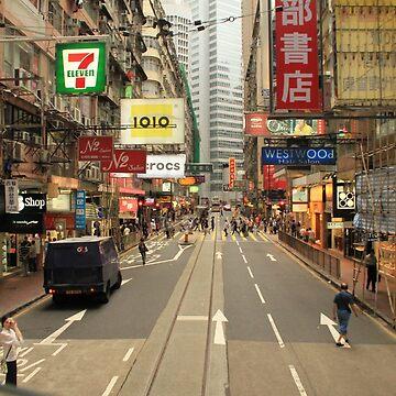 Street in Hong Kong by samby