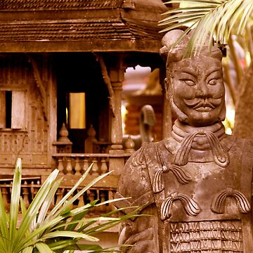 statue in Thailand by samby