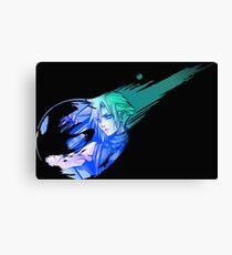 Final Fantasy 7 Cloud Canvas Print