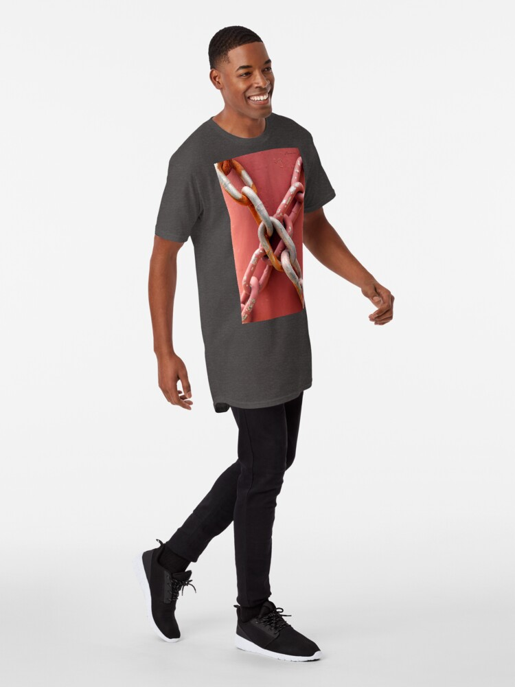 Alternate view of Linked in Pink Long T-Shirt