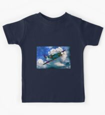 Supermarine Spitfire WWII Kids Tee
