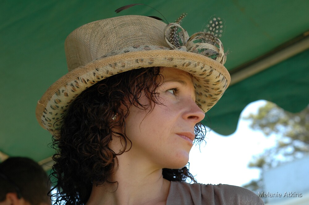 beautiful as the hat by Melanie Atkins