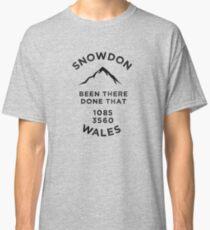 Snowdon-Wales-Walking Climbing Classic T-Shirt