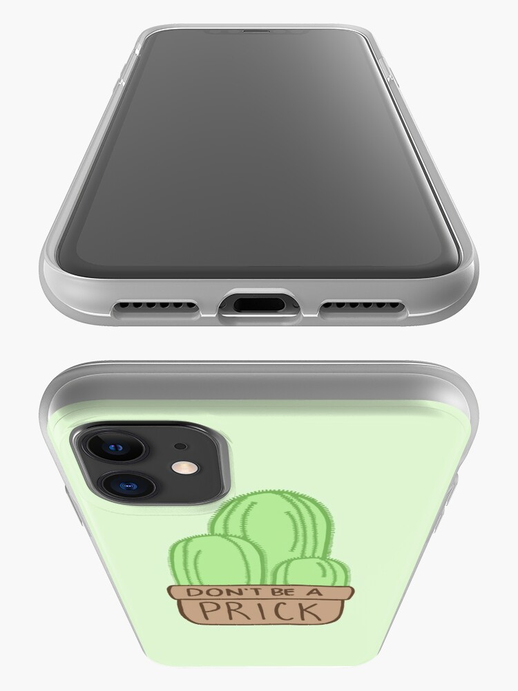 Alternate view of Don't Be a Prick Cactus iPhone Case & Cover