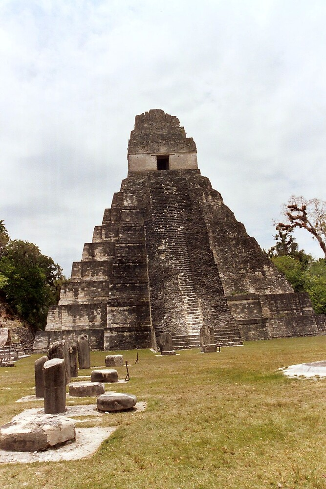 PYRAMIDS OF TIKAL by oshun25