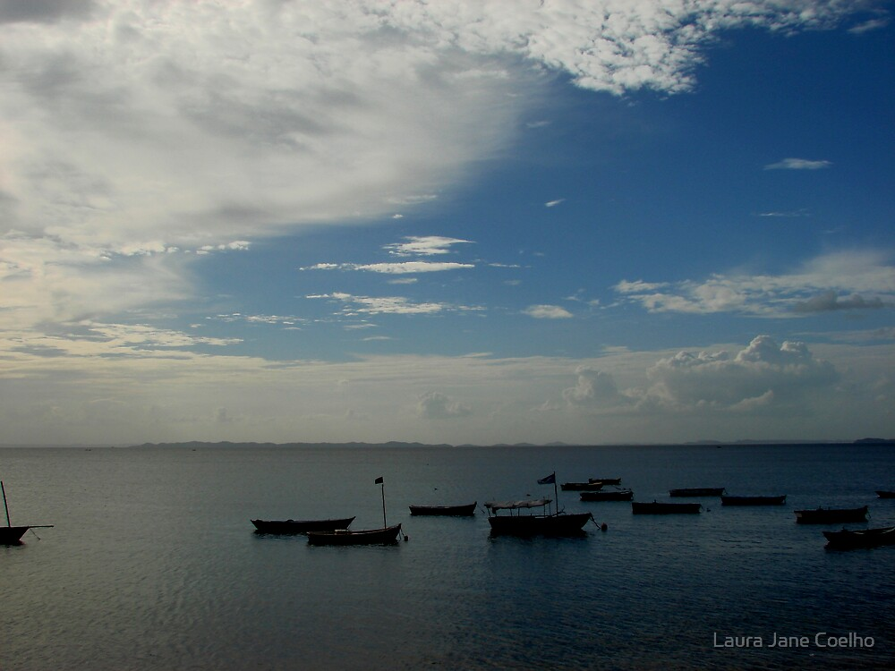 Sea view at Salvador, Brazil by Laura Jane Coelho