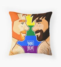 ADAM + BEN - GAYPRIDE Throw Pillow