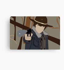 Carl - The Walking Dead Canvas Print