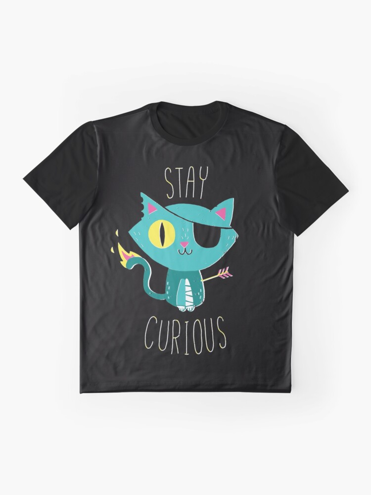Alternate view of Stay Curious Graphic T-Shirt