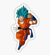 Goku Super Saiyan Blue Sticker
