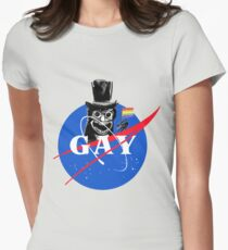 BABADOOK NASA GAY Womens Fitted T-Shirt
