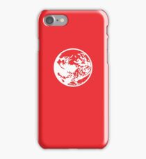 Earthbound Symbol - Super Smash Bros. (white) iPhone Case/Skin