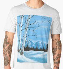 Winter Scene Men's Premium T-Shirt