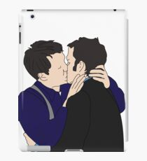 Jack and Ianto  iPad Case/Skin