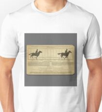 Eadweard Muybridge – 1830-1904 – Animal Locomotion Theory – Horse Poster - Grey T-Shirt