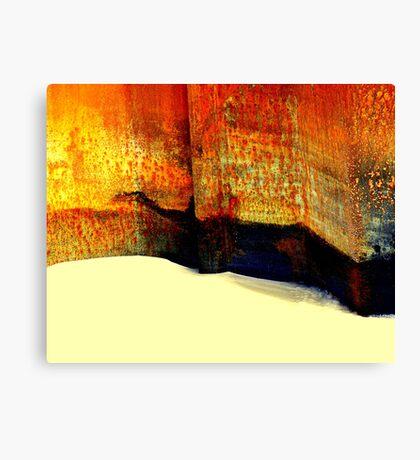 Capturing sand Canvas Print