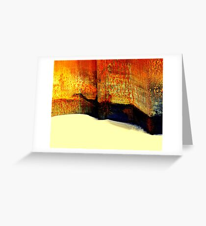 Capturing sand Greeting Card