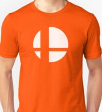 Super Smash Bros. Symbol (white) T-Shirt