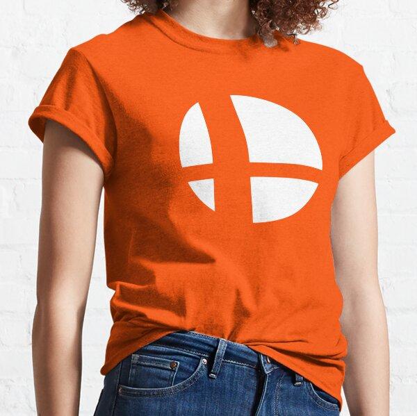 Super Smash Bros. Symbol (white) Classic T-Shirt
