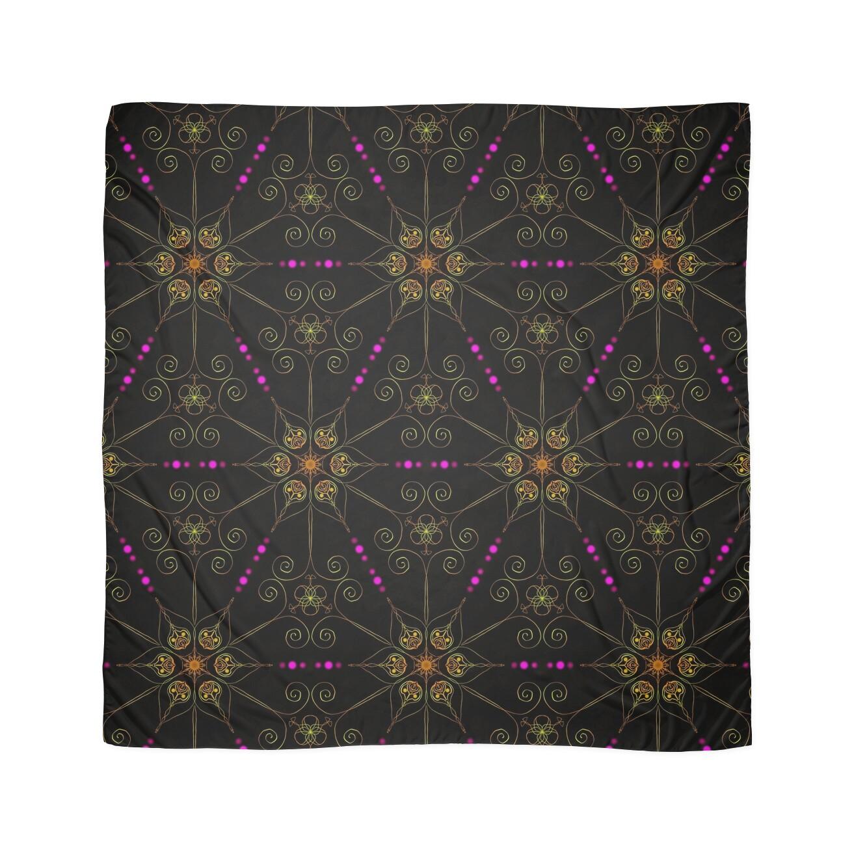 bd5c378487c4 Psychedelic Pattern, Ornament, Mandala, Design, Art, Flower, Fantasy,  Magic, Geometry,   Scarf