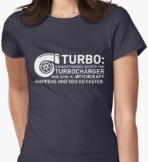 Turbo Witchcraft - Jeremy Clarkson Women's Fitted T-Shirt