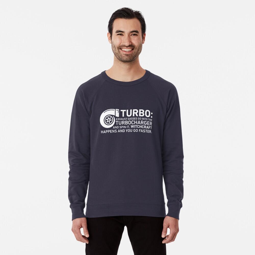 Turbo Witchcraft - Jeremy Clarkson Lightweight Sweatshirt
