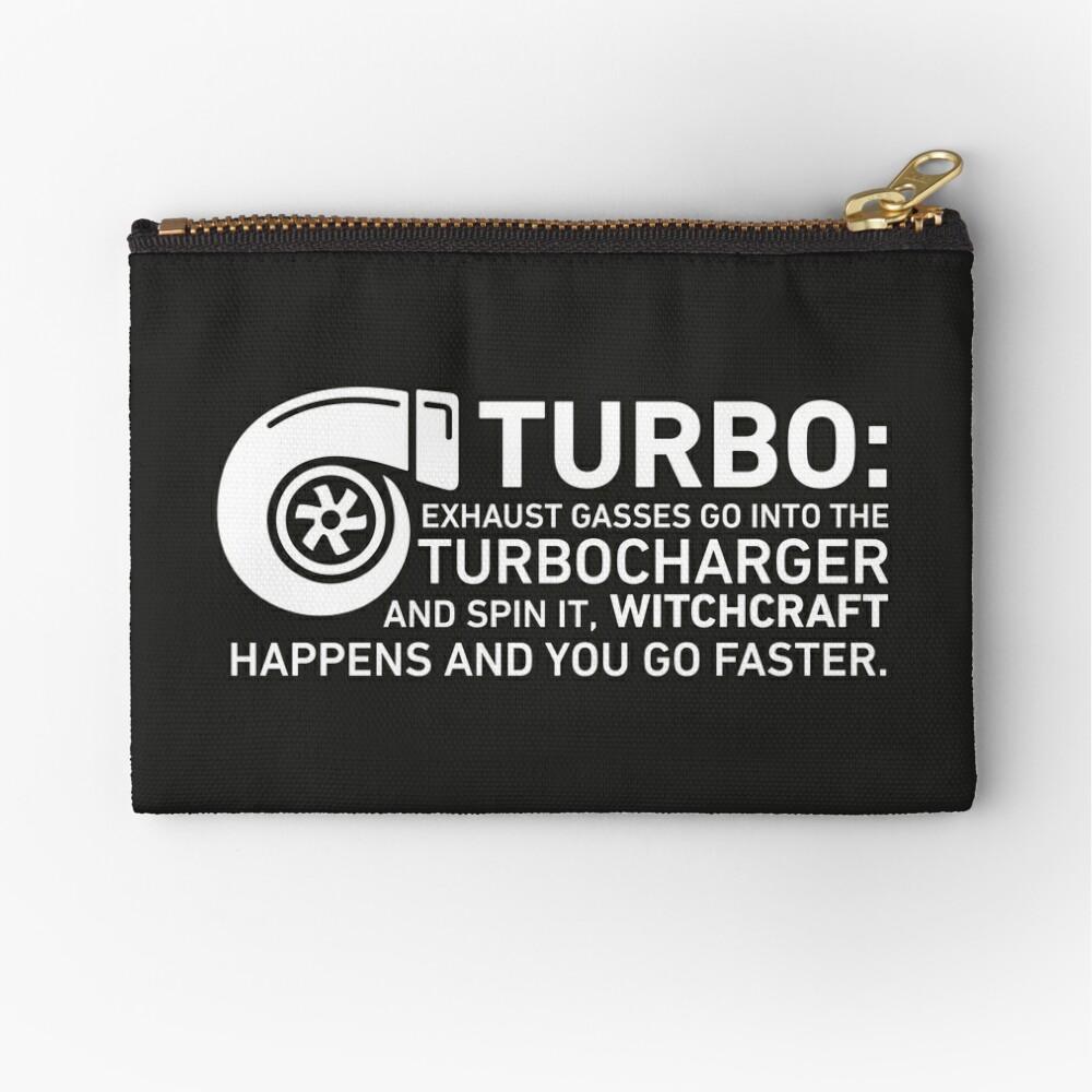 Turbo Witchcraft - Jeremy Clarkson Zipper Pouch